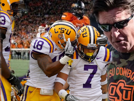 5 REASONS WHY LSU LOST THE 2012 BCS NATIONAL TITLE
