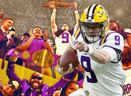 2019: LSU'S YEAR OF DREAMS PT. II: HOW BURROW BECAME BURREAUX
