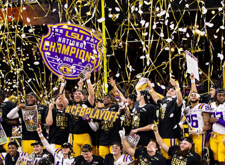 AFTER THE CONFETTI FALLS: HOW LSU'S HOLLYWOOD SEASON TOOK OVER COLLEGE FOOTBALL