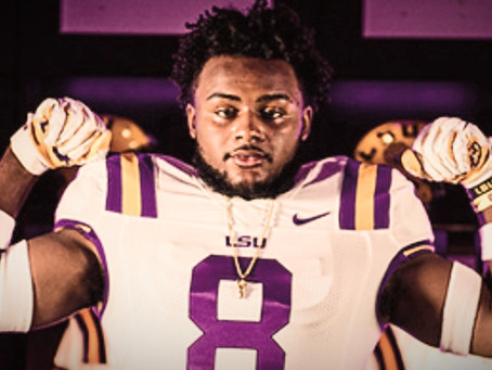 2022 ⭐⭐⭐⭐ LB DEMARIO TOLAN COMMITS TO LSU: HOLD THAT TIGER!