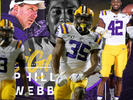 PURPLE REIGN:5 REASONS LSU WILL DEFEND THEIR TITLE #1:  BO PELINI'S JAW
