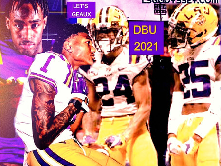 LSU's 2021 CBs EARLY PREVIEW: #DBU2021