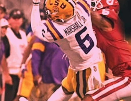 TERRACE MARSHALL SR INTERVIEW: ALL ABOUT HIS SON'S #NFLSU FUTURE & LEGENDARY LSU PAST