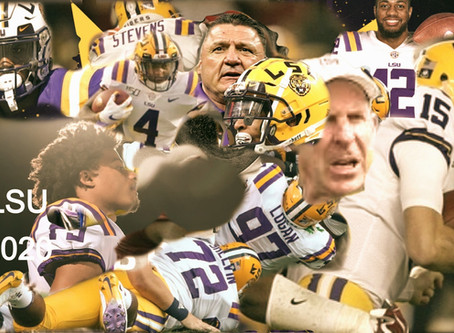 WHY WE WANT THE CFB WORLD TO DISMISS 2020 LSU