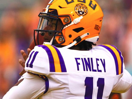 TJ FINLEY TRANSFERS FROM LSU