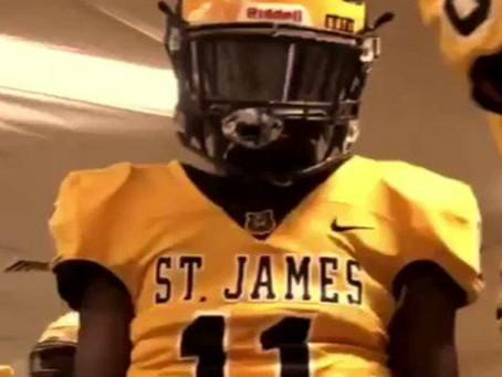 ST JAMES 2021 DB J'KORY ESTER INTERVIEW: 2 SEASONS, 1 STATE TITLE, 11 INTERCEPTIONS...0 OFFERS