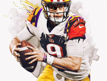 """JOE BURROW """"ALL SYSTEMS GEAUX"""": THE EYE OF THE TIGER"""
