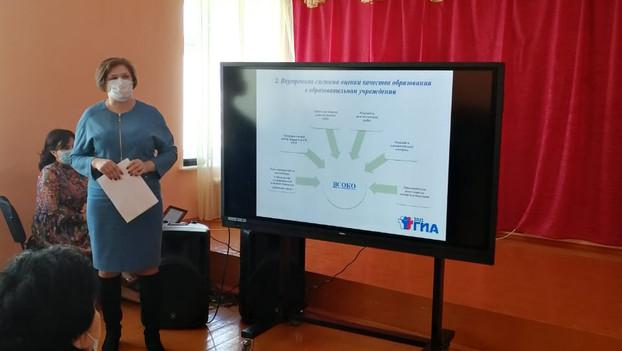 Зональные семинары и индивидуальные собеседования с руководителями ОО