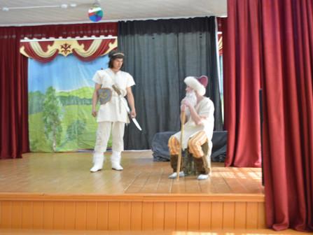Муниципальный этап Республиканского конкурса юных сказителей эпоса «Урал батыр»