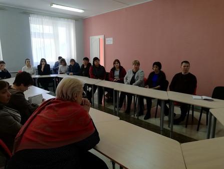МОБУ СОШ с. Абзаково был организован родительский университет