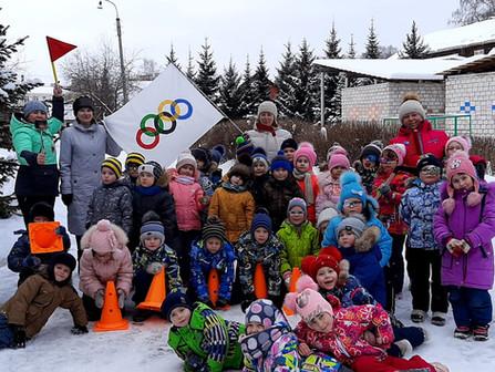 Малые зимние  Олимпийские  игры в ДОУ №44
