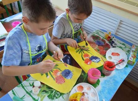 Неделя искусства в детском саду №3