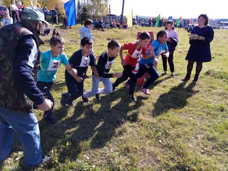 Легкоатлетический кросс в селе Тукан