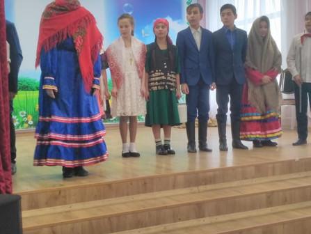 Муниципальный этап Республиканского конкурса-фестиваля театрально-фольклорных групп обучающихся «Жем