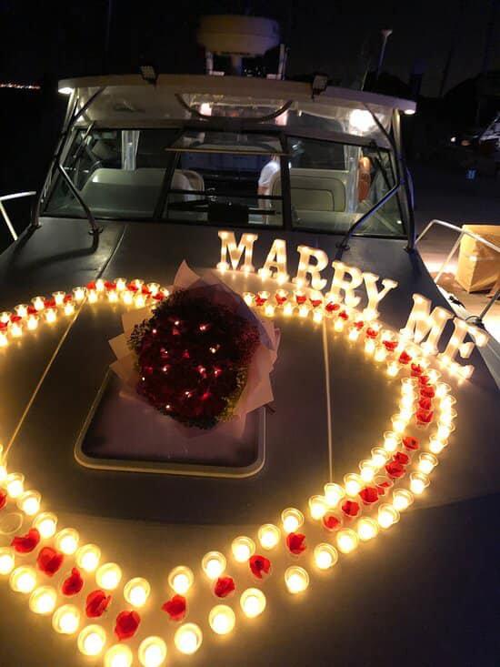 Wedding Proposal (Mon to Thu)