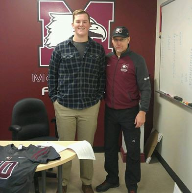 2017 Cameron Smith signing with McMaster