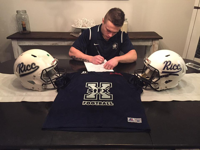 2018 Calen Fennell signs with St. Franci