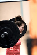 Female with Barbell
