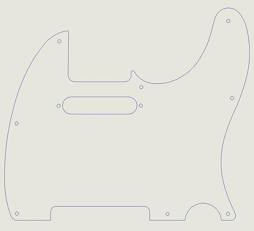 Custom Small Pickguard - Plastic