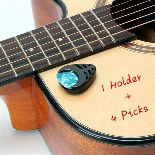 Plectrum Stick-on Holder