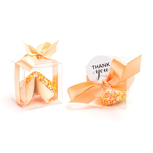 25 Thanksgiving Sprinkles Boxed Fortune Cookies