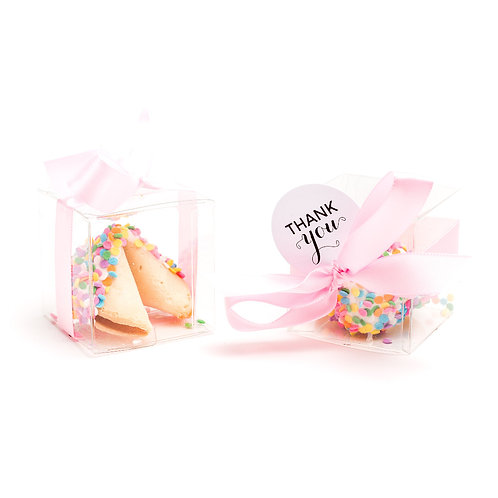 25 Easter Confetti Boxed Fortune Cookies