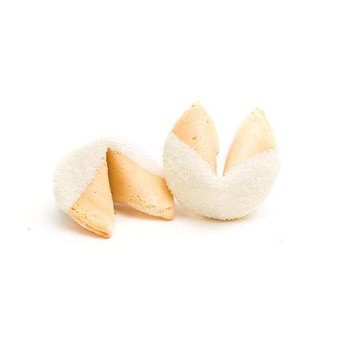 25 White Sugar Bulk Fortune Cookies