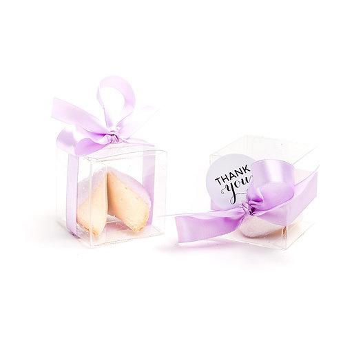 25 Lavender Sugar Boxed Fortune Cookies