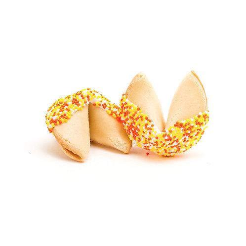25 Thanksgiving Sprinkles Bulk Fortune Cookies
