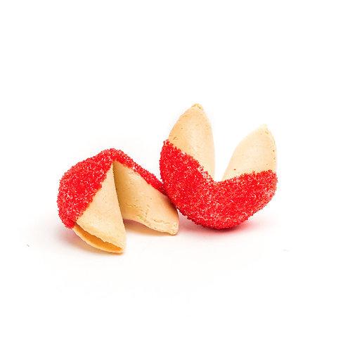 25 Red Sugar Bulk Fortune Cookies