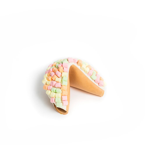 Giant Marshmallows Covered Fortune Cookie