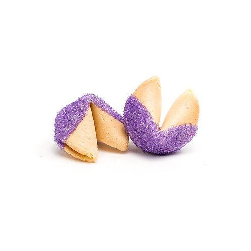 25 Purple Sugar Bulk Fortune Cookies