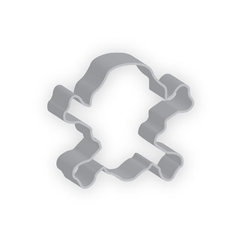 "5"" Skull & Crossbon Cookie Cutter"