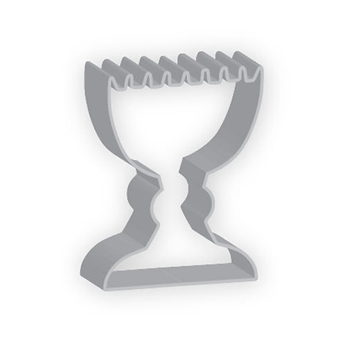 "3"" Menorah Cookie Cutter"