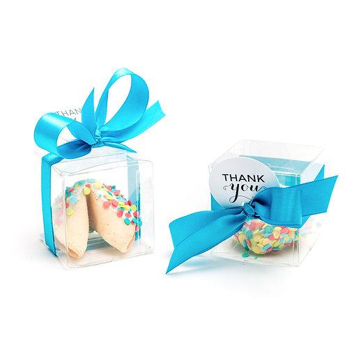 25 Celebration Confetti Boxed Fortune Cookies