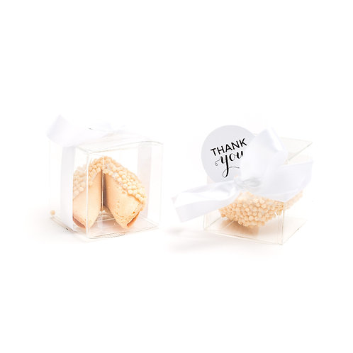 25 Rice Crisp Crunch Boxed Fortune Cookies