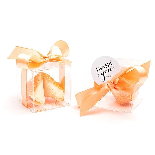 25 Orange Sugar Boxed Fortune Cookies