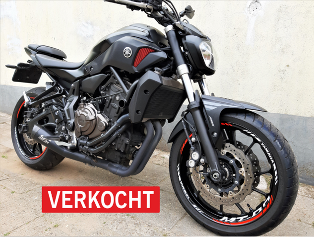 Yamaha MT07 2014