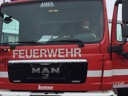 Besuch bei der Feuerwehr Bayreuth