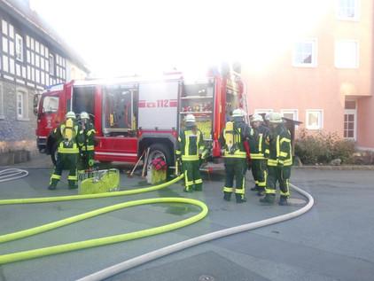 Großes Feuerwehraufgebot gestern Abend in Issigau