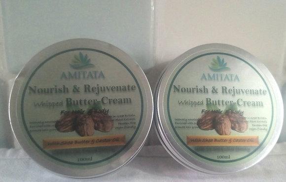 Amitata Nourishing Hair & Body Butter- 100ml