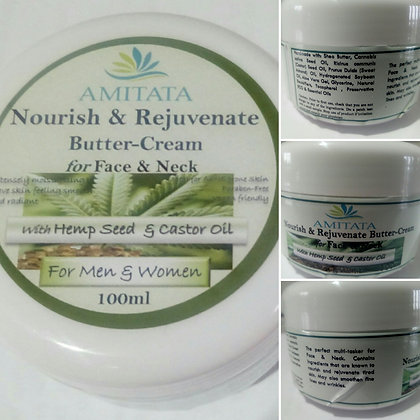 Nourish & Rejuvenate Butter-Cream- for Face & Neck