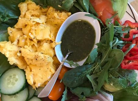 Et typisk lavkarbo - måltid