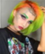 #makeup by me for _madisunsky 💀☠️🎃😻 #