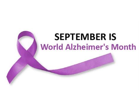 September: World Alzheimer's Month