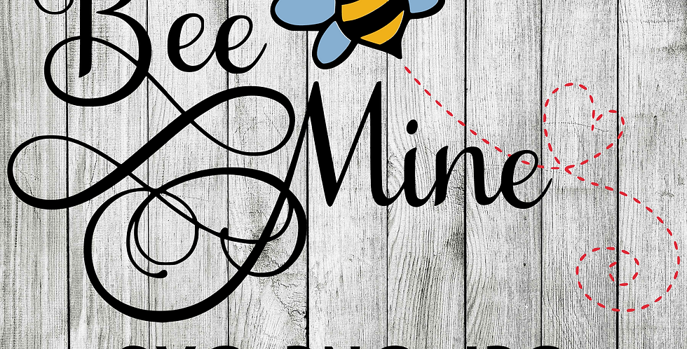 bee mine SVG