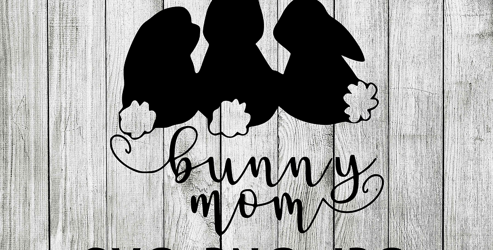 Bunny mom SVG