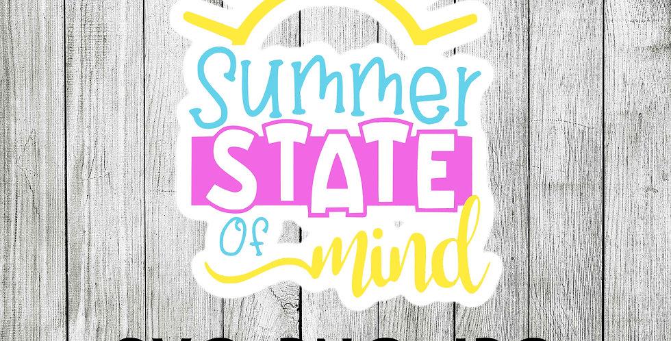 summer state of mind SVG - sunshine