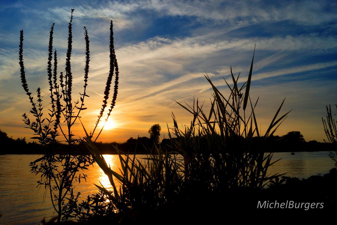 IJssel zonsondergang