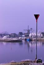 Winter aan de IJssel